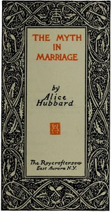 Cover of The Myth in Marriage