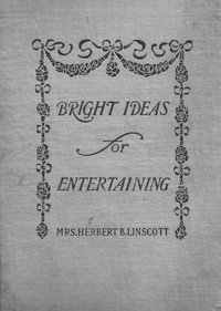 Cover of Bright Ideas for Entertaining