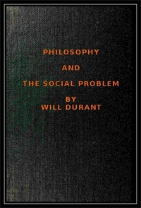 Cover of Philosophy and the Social Problem