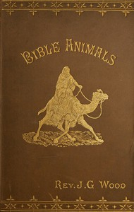 Cover of Bible Animals; Being a Description of Every Living Creature Mentioned in the Scripture, from the Ape to the Coral.