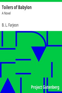 Cover of Toilers of Babylon: A Novel