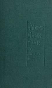 Cover of A Young Man's Year