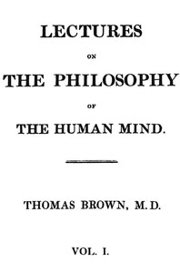 Cover of Lectures on the Philosophy of the Human Mind (Vol. 1 of 3)