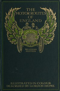 Cover of The Motor Routes of England: Western Section