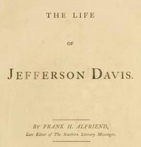 The Life of Jefferson Davis