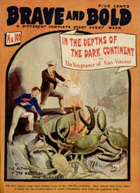 Cover of In the Depths of the Dark Continent; or, The Vengeance of Van Vincent