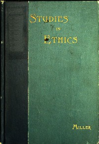 Cover of Short Studies in Ethics: An Elementary Text-Book for Schools
