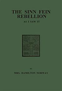 Cover of The Sinn Fein Rebellion as I Saw It.