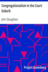 Cover of Congregationalism in the Court Suburb