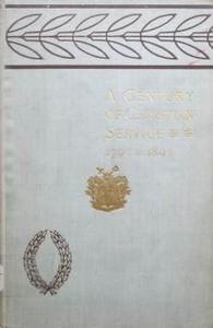 Cover of A Century of Christian Service: Kensington Congregational Church, 1793-1893