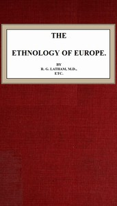 The Ethnology of Europe