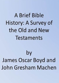 Cover of A Brief Bible History: A Survey of the Old and New Testaments