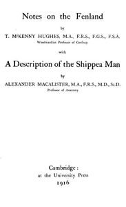 Cover of Notes on the Fenland; with A Description of the Shippea Man