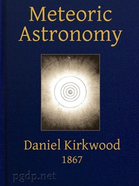Cover of Meteoric astronomy: A treatise on shooting-stars, fire-balls, and aerolites