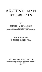 Cover of Ancient Man in Britain