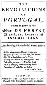 Cover of The Revolutions of Portugal