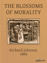 Cover of The Blossoms of MoralityIntended for the Amusement and Instruction of Young Ladies and Gentlemen