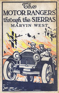 Cover of The Motor Rangers Through the Sierras