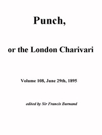Cover of Punch, or the London Charivari, Vol. 108, June 29, 1895