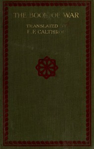 Cover of The Book of War: The Military Classic of the Far EastThe Articles of Suntzu; The Sayings of Wutzu