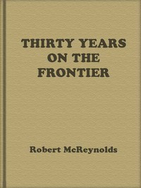 Cover of Thirty Years on the Frontier