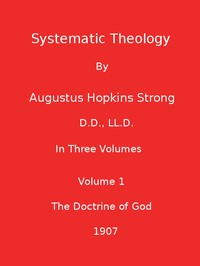 Cover of Systematic Theology (Volume 1 of 3)