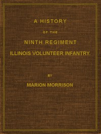 Cover of A History of the Ninth Regiment, Illinois Volunteer Infantry