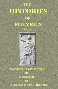 Cover of The Histories of Polybius, Vol. 2 (of 2)