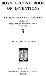 Cover of Boys' Second Book of Inventions