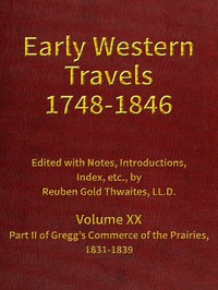Cover of Gregg's Commerce of the Prairies, 1831-1839, part 2