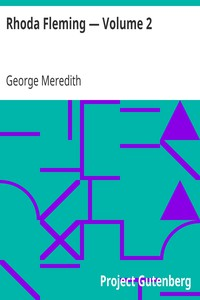 Cover of Rhoda Fleming — Volume 2