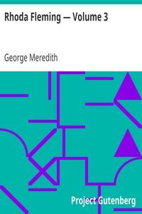 Cover of Rhoda Fleming — Volume 3