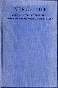 Cover of Ypres 1914: An Official Account Published by Order of the German General Staff