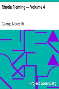 Cover of Rhoda Fleming — Volume 4