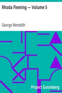 Cover of Rhoda Fleming — Volume 5