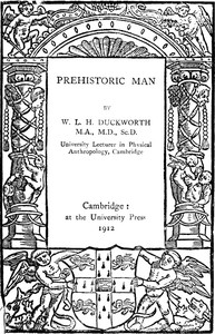 Cover of Prehistoric Man