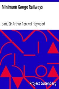 Cover of Minimum Gauge Railways