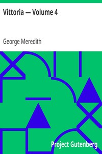 Cover of Vittoria — Volume 4