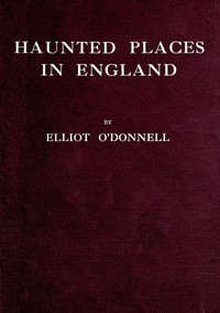 Cover of Haunted Places in England