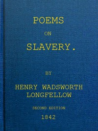 Cover of Poems on Slavery