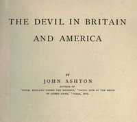 Cover of The Devil in Britain and America