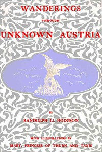 Cover of Wanderings through unknown Austria