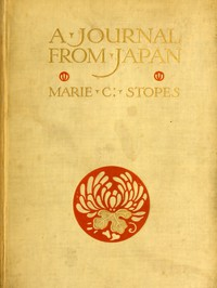 Cover of A Journal from Japan: A Daily Record of Life as Seen by a Scientist
