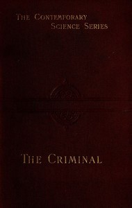 Cover of The Criminal