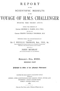 Report on the Radiolaria Collected by H.M.S. Challenger During the Years 1873-1876, Second Part: Subclass Osculosa; IndexReport on the Scientific Results of the Voyage of H.M.S. Challenger During the Years 1873-76, Vol. XVIII