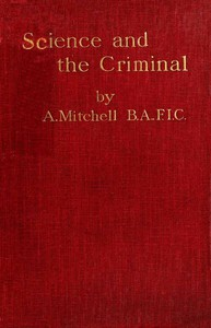 Science and the Criminal