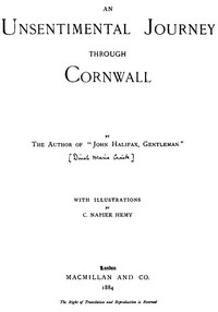Cover of An Unsentimental Journey through Cornwall
