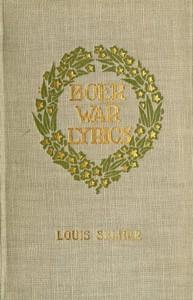 Cover of Boer War Lyrics