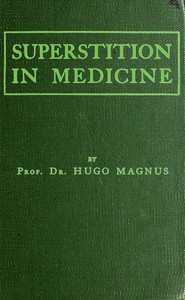 Superstition in Medicine
