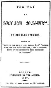 The Way to Abolish Slavery